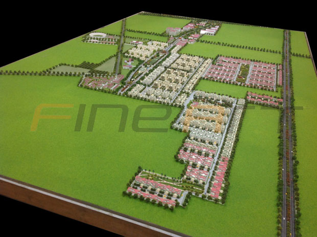 Township and residential architectural scale model makers delhi