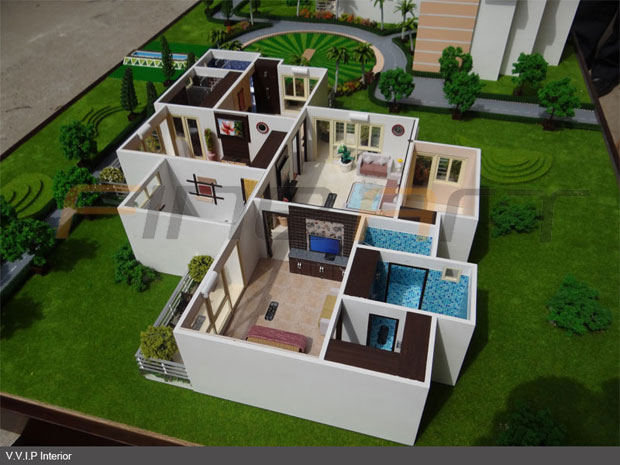 Fine art scale models pvt ltd architectural scale model 3d model house maker